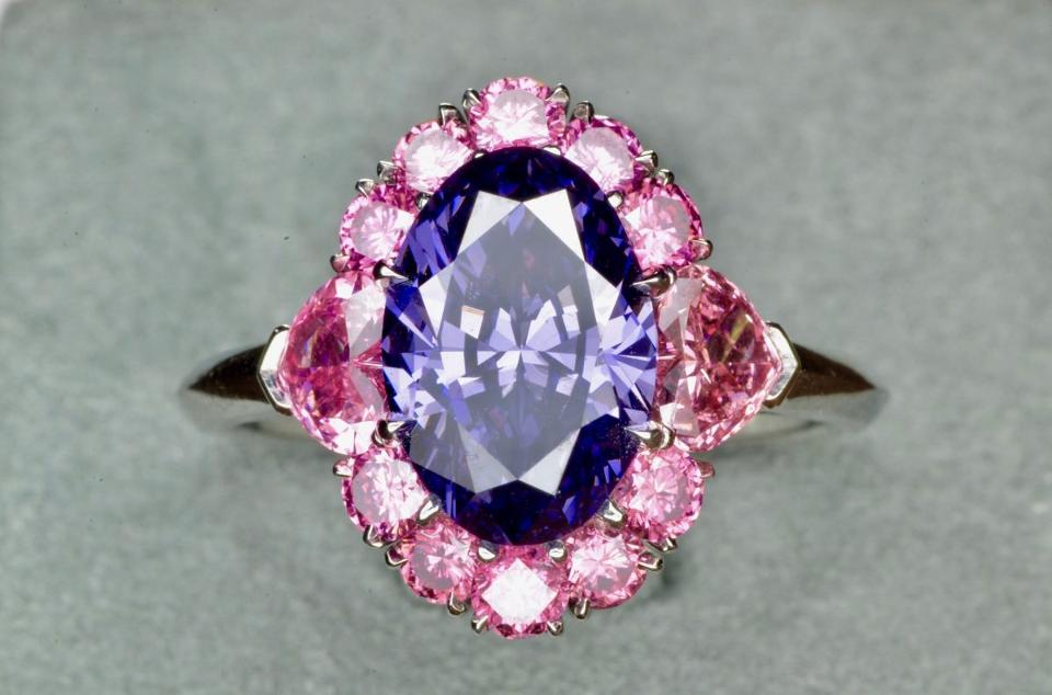 Argyle Violet Ring