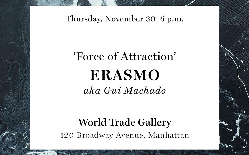 Exhition 'Force of Attraction' ERASMO aka Gui Machado